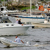 Newburyport: Many boaters were heading up and down the Merrimack River yesterday afternoon off of Newburyport's Waterfront Park. The holiday weekend looks good for boaters weatherwise. Bryan Eaton/Staff Photo
