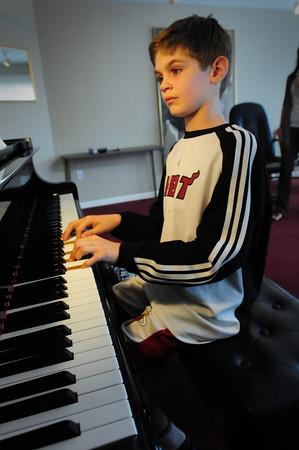 Newburyport: Jack Szczuka is the first recipient of The Musical Suite's Director's Award. Bryan Eaton/Staff Photo