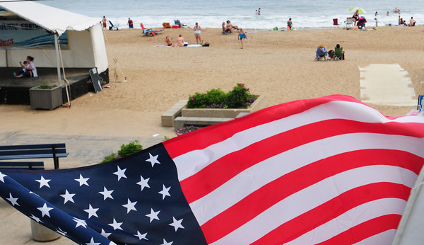 Salisbury: Salisbury Beach Center was fairly quiet yesterday afternoon, but crowds are expected for the Fourth of July holiday weekend as hot weather and fireworks are on tap. Bryan Eaton/Staff Photo