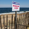 Newburyport: Several access points to the beach on the Newburyport section of Plum Island have been closed by the city due to erosion concerns. Bryan Eaton/Staff Photo