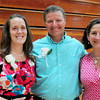 Newburyport: This year's Molin Award winners from left, Mary Kate Allan, Nock Middle School, Steve Malenfant, Newburyport High School and Joan Notargiacomo of the Bresnahan School. Bryan Eaton/Staff Photo