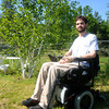 Newton: Nate Bibaud at his home in Newton. Jim Vaiknoras/Staff photo