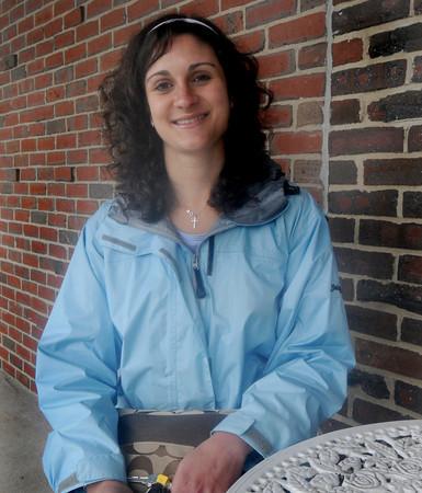 Georgetown: Resent Gordon college graduate Chrissy Bongiomi. Jim Vaiknoras/Staff photo