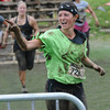 Amesbury :Sara Ferreira finishes the Warrior Dash at Amesbury Park Saturday. Jim Vaiknoras/Staff photo