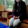West Newbury: Author Hannah Howell at her West Newbury home. Jim Vaiknoras/Staff photo