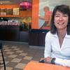 Newburyport: Janet Hawkes, director of the Hugh Doyle Resource Center, at Dunkin Donuts in Newburyport. Jim Vaiknoras/Staff photo