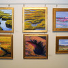 "Byfield: Works by artists , Margaret Bernier and Janet Rossman on display at the Governor's Academy in a show called ""Oil Painting with Panache."" Jim Vaiknoras/Staff photo"