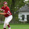 Newburyport: Pitch Brett Fontaine (6) took the mound for the Clippers Monday afternoon as Newburyport hosted Rockport. Photo by Ben Laing/Staff Photo