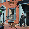 Newburyport: A state police canine unit was dispatched to aid Newburyport Police to help search for a suspect who robbed the TD Bank in downtown yesterday afternoon. Bryan Eaton/Staff Photo