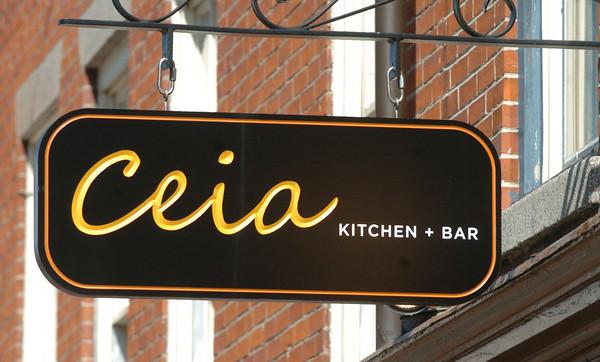 Newburyport: Ceia Kitchen + Bar. Bryan Eaton/Staff Photo