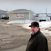 Seabrook: Bob Campbell, manager of the Yankee Fisherman's Cooperative in Seabrook, is working to get a fish processing and retail facility to be builts to the right of the existing buildings. Bryan Eaton/Staff Photo