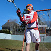 Newburyport: Newburyport High lacrosse goalie Dean Cataldo. Bryan Eaton/Staff Photo