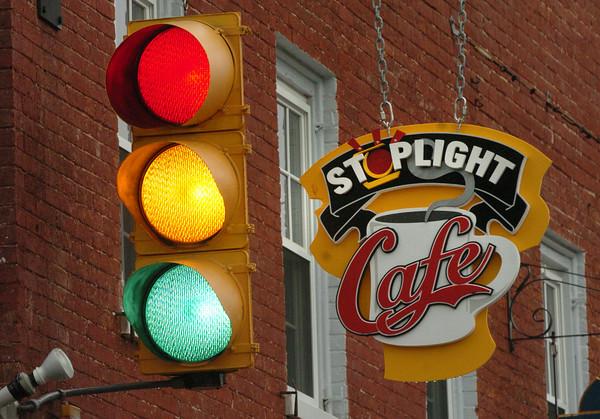Newburyport: Stoplight Cafe. Bryan Eaton/Staff Photo