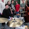 West Newbury: The Pentucket High School Jazz Band took third place at the Berklee Jazz Festival. From left, director David Schumacher, James Frietas, 17, Elise Homan, 17. Josh Torvi, 15, Eddie Gaudet, 16, and Duncan Tarr, 16.
