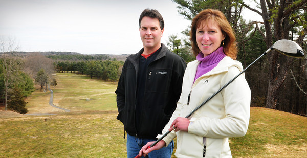 Amesbury: Siblings Michael and Maria Mellon are taking over the Amesbury Country Club. Bryan Eaton/Staff Photo