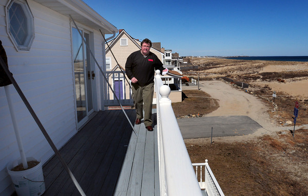 Seabrook: Bob Preston of Preston Real Estate and Rentals at Seabrook Beach says that summer rentals are already picking up from the economic downtown two years ago. Bryan Eaton/Staff Photo