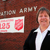Newburyport: Major Kathy Purvis from the Newburyport Salvation Army. Bryan Eaton/Staff Photo