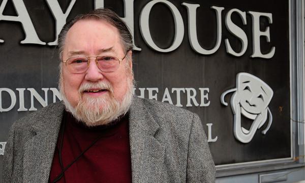 Amesbury: Bill Brooks of the Amesbury Playhouse, Bryan Eaton/Staff Photo