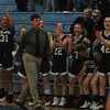 Wilmington Pentucket celebrates a first half basket aqainast St Mary's at Wilmington high Wednesday night. Jim Vaiknoras/Staff photo