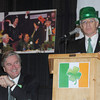 Newburyport: Charlie Cullen sings a song about Congressman John Tierney at the 9th St Patrick's Day Luncheon at the Masonic Temple in Newburyport. JIm Vaiknoras/Staff photo