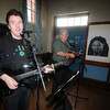 Newburyport: Tom Courtney performs Irish music at the 9th St Patrick's Day Luncheon at the Masonic Temple in Newburyport. JIm Vaiknoras/Staff photo
