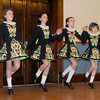 Newburyport: Dancers from the Bracken School of Irish Dance perform at the 9th St Patrick's Day Luncheon at the Masonic Temple in Newburyport. JIm Vaiknoras/Staff photo