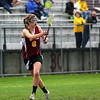 Newburyport: Newburyport freshman Julia Kipp (6), leads the Clippers lacrosse team in scoring this season. Photo by Ben Laing/Staff Photo