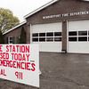 Newburyport: The Newburyport Fire Station on the west end of the city is closed for now. Bryan Eaton/Staff Photo