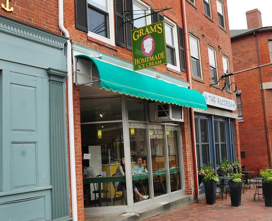 Newburyport: Gram's Ice Cream store. Bryan Eaton/Staff Photo