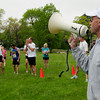 Newburyport: Don Hennigar starts the Travis Trail Run at Maudslay State Park on Sunday. Bryan Eaton/Staff Photo