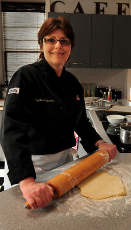 Newburyport: Cook of the Month, Cynthia  Flahardy. Bryan Eaton/Staff Photo