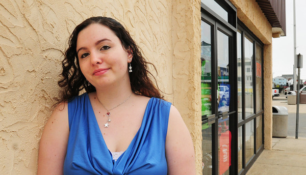 Salisbury: Annabel Andriotakis was the target of a couple of attempted scams as she looked for a job on Craig's List. Bryan Eaton/Staff Photo