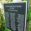 Newburyport: New plaque honoring the Break-o-Day Hills Boys. Bryan Eaton/Staff Photo