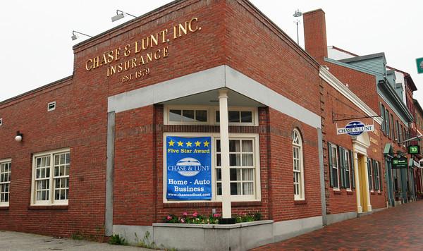 Newburyport: Chase and Lunt Insurance has been in Newburyport since 1879. Bryan Eaton/Staff Photo