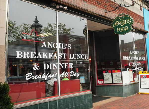 Newburyport: Angie's Food on Pleasant Street in Newburyport. Bryan Eaton/Staff Photo