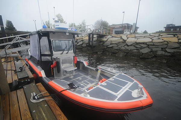 Newburyport: The new Coast Guard 24 ft boat.