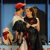 Newburyport: Joe Hardy , played by Jordan Dunn-Pilz, dances with Lola, played by Emily Dekanter, in the Newburyport high production of Damn Yankees. Jim Vaiknoras/Staff photo