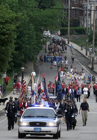 Amesbury:The annual Amesbury Memorial Day Parade to make it's way down Main Street Monday morning. Jim Vaiknoras/Staff photo