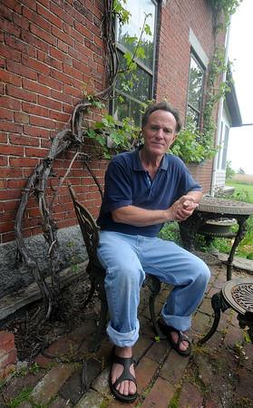 Salisbury: Author Frank Shaeffer at his Salisbury home. Jim Vaiknoras/Staff photo