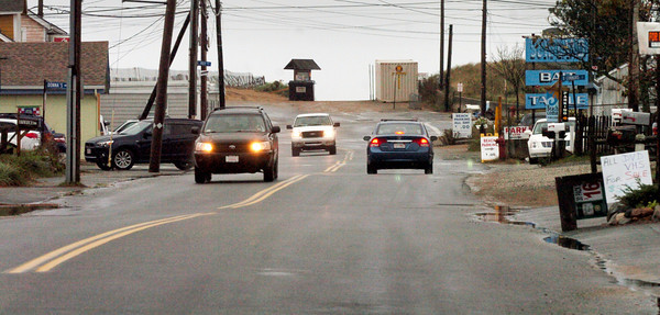 Newburyport: Plum Island Boulevard looking toward the island center. Bryan Eaton/Staff Photo