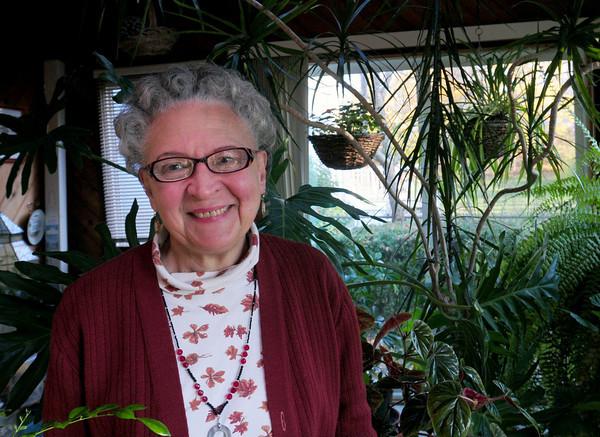 Newburyport: Local writer and poet Rhina Espalliat. Bryan Eaton/Staff Photo