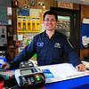 Newburyport: Joe Fares at the Newburyport Sunoco station. Bryan Eaton/Staff Photo