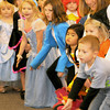 Byfield: Kids from all over Newbury dress in their best Halloween clothes to enjoy the songs of The Toe Jam Puppet Band at the Newbury Library Saturday morning. JIm Vaiknoras/Staff photo