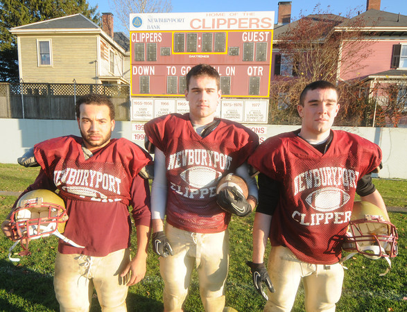 Newburyport: Newburyport capts Tyler Martin, james Conway and James Hundertmark. Jim Vaiknoras/staff photo