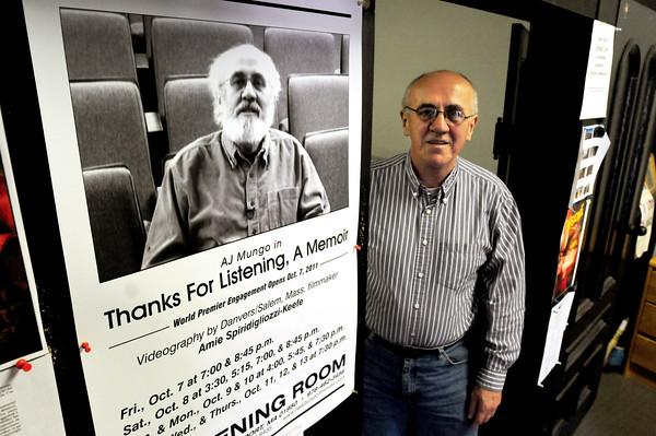 Newburyport: Andrew Mungo of Newburyport's Screening Room theater. Bryan Eaton/Staff Photo
