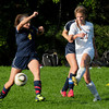Newburyport: Newburyport's Carly Brand in action with Lynnfield. Bryan Eaton/Staff Photo
