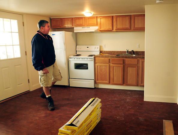 Salisbury: Brad Kutcher renovated these apartments at Salisbury into one and two-bedroom apartments. Bryan Eaton/Staff Photo