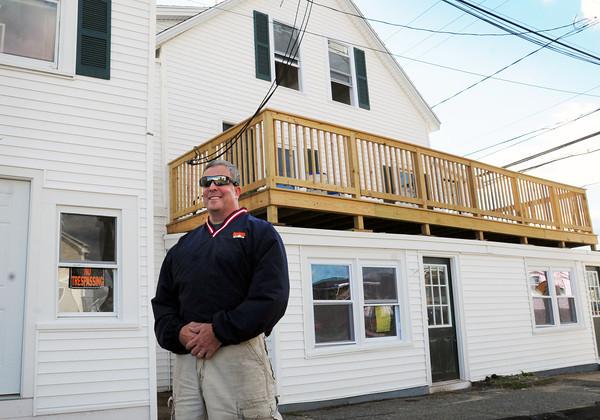 Salisbury: Amesbury developer Brad Kutcher renovated these apartments at Salisbury Beach which had been condemned due to code violations. Bryan Eaton/Staff Photo