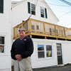 Salisbury: Amesbury developer Brad Kutcher renovated these apartments at Salisbury Beach which had been condemned due to code violations. Bryan Eaton/Staff Photo