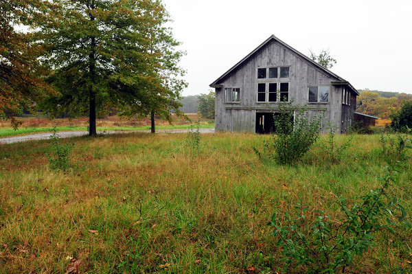 Rowley: This barn and two buildings near by on Patmos Road, off Route 1A, in Rowley will be demolished by the Audubon Society which has acquired the property and nearby marshland as a new sanctuary. Bryan Eaton/Staff Photo